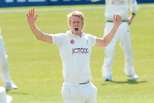 Fast bowler Steve Patterson got Yorkshire on the board against Middlesex.