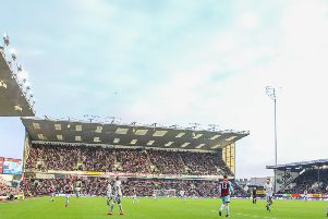 The Clarets were beaten by Manchester United this weekend