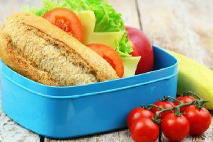 The lunch box guide is designed to help both parents and children make healthier choices