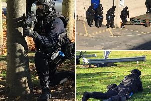 Counter Terrorism Policing North East has led a series of training exercises across West Yorkshire.