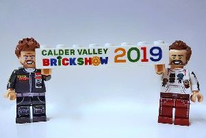 LEGO brick showcases models