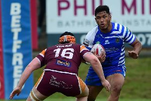 Adam Tangata is searching for a new club following a takeover at Widnes Vikings.