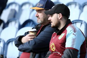 Burnley fans were left feeling blue at full time