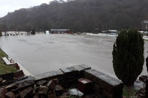 Bridgeholme CC flooded again on March 16, 2019