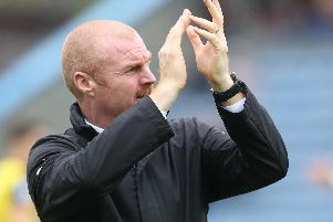 Sean Dyche has now managed 300 games in charge of the Clarets