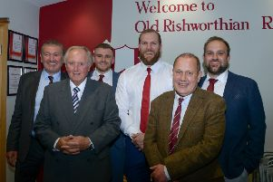 Old Rishworthians dinner. Picture: Jade Kilbride.