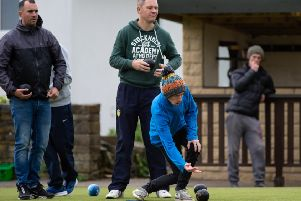 Elland Open Pairs event at Hipperholme BC. Pictured is Danny Barker