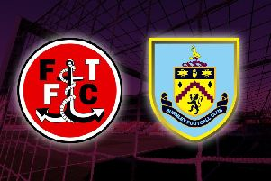 Fleetwood Town v Burnley