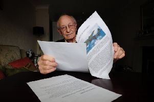 'Witnessing bomber crash disaster has never left me' - memories re-lived for first time in 75 years
