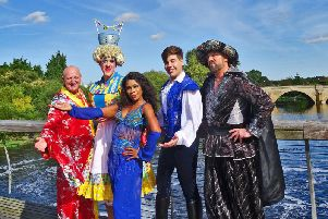 Aladdin in Castleford
