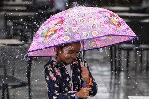 Dig out the wellies and brush off the rain coat - Wakefield is set for another soggy day.