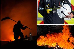 West Yorkshire Fire and Rescue Service are hiring on call firefighters to provide cover at fire stations around a normal job.
