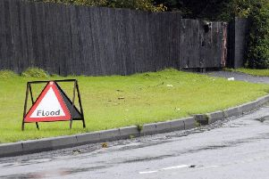 The downpours could cause homes and businesses to flood and drivers are warned that spray and flooding could cause difficult driving conditions.