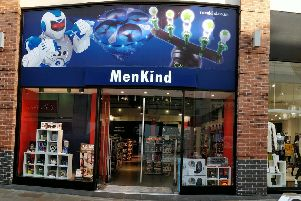 Gadget store MenKind has opened a popup store in Wakefield city centre this festive season.