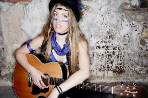 Psychedelic soul artist, Jilly Riley, will perform at the Tap and Barrel on Monday October 28.