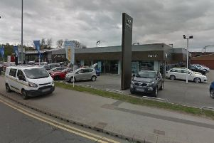 Car dealership Cars2 has raised 8,500 for two hospices. Photo: Google Maps