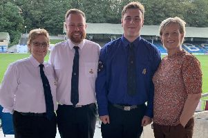 A Boys Brigade member has been handed the highest honour within the organisation - The Queens Badge.