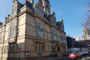 Wakefield Town Hall.