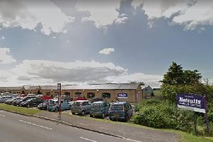 Carl Wood left muddy footprints at the scene during burglary at Notcutts garden centre, Featherstone.