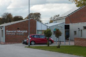 Sandal Magna Community Academy in Wakefield.