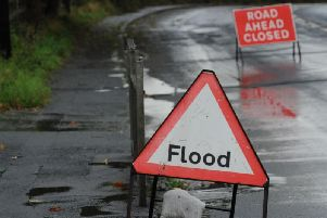 Heavy rain this morning on already sodden ground has led the Met Office to warn there may be a disruption from flooding.