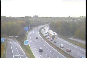 The M1 has now cleared.