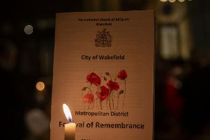 The Festival of Remembrance.