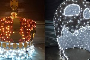 Following the popularity and success of last year's Christmas lights and 3D features, two new 3D light features have been specially commissioned for Wakefield city centre.