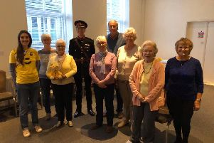 The Queens representative, Deputy Lord Lieutenant of West Yorkshire David Dinmore MBE also attended one of the sessions, supported by Horbury Community Choir members.