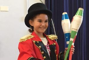 Seven year-old Isabella, who attends Stagecoach Pontefract, was selected to star in Cbeebies show 'My First.'
