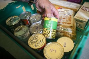 Food Bank at the Link specialise in helping families in the area who struggle to afford food.