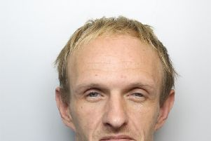 Wayne Pogson was caught on camera filling stolen Audi A5 with petrol after break-in at house in Normanton, Wakefield.