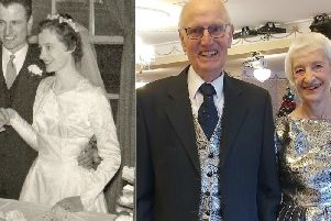 The devoted couple celebrate 60 years of marriage