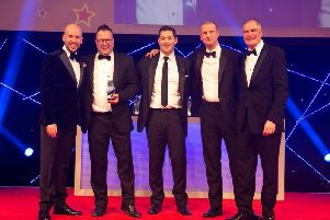 An independent Wakefield estate agency was awarded double gold in the residential property industrys Oscars.