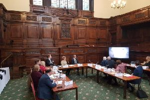 Councillors were shown the video on Tuesday morning.