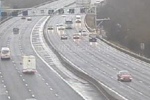 The M1 has now reopened at Wakefield after a multi-vehicle crash this morning.