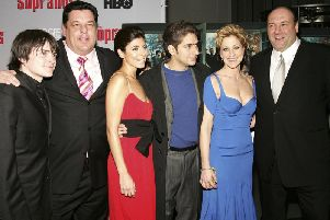 Cast from The Sopranos