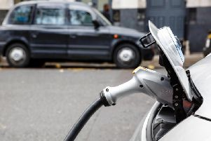 The council believes the move will encourage cabbies to buy electric cars