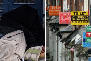 "The woman spent the night on the streets after fleeing the home, where she ""felt unsafe""."