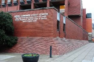 Sharon Robinson, 47,had been split up from her husband for a week and he had moved out of the marital home when she and her daughter went to his new home Leeds Crown Court heard.