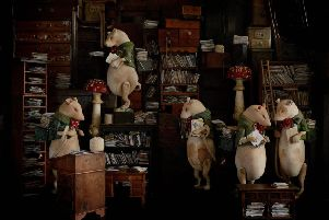 Coming soon to Yorkshire Sculpture Park - Mister Finch, The Rat's Sorting Office. Courtesy the artist.