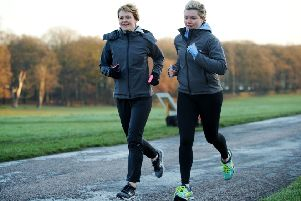 Olympian Emily Freeman and Natalie Jackson, who founded Totally Runable.