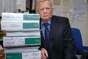 Paul Dainton, president of RATS, pictured in 2011.