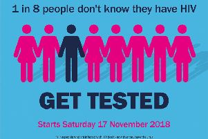 Free testing for HIV around Wakefield as HIV Week highlights need for awareness