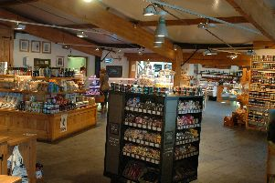Farmer Copleys farm shop near Pontefract