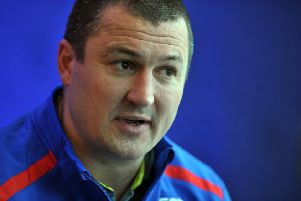 Wakefield Trinity coach Chris Chester.