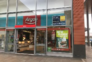Signs saying that Wakefield's Argos store was going to relocate were put up by mistake.