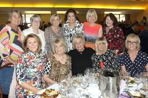 Jane McDonald is guest of honour at Wakefield Hospice lunch