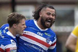 David Fifita, of Wakefield Trinity.