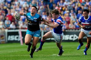 Highly rated Leeds Rhinos forward Owen Trout . PIC: Simon Hulme
